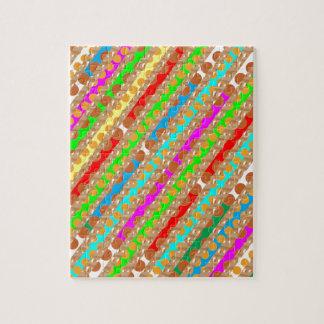 El sacador de papel pela ARTE del REMIENDO de Puzzle