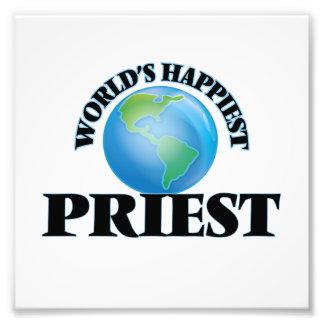 El sacerdote más feliz del mundo fotografías