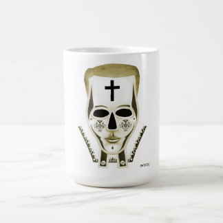 El sacerdote - oro taza