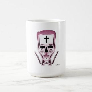 El sacerdote - rojo taza clásica