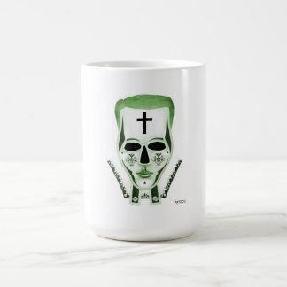 El sacerdote - verde taza clásica
