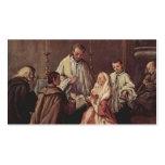 El sacramento de la boda de Pietro Longhi Tarjeta De Visita