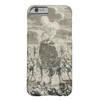 El sacrificio a Quitchi-Manitou, o el gran Spi Funda Para iPhone 6 Barely There