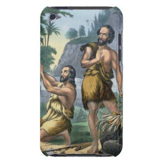 El sacrificio de Caín y de Abel, de una biblia iPod Touch Case-Mate Cobertura