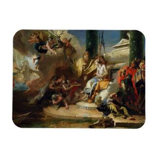 El sacrificio de Iphigenia Imán De Vinilo