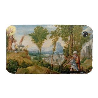 El sacrificio de Isaac iPhone 3 Carcasa