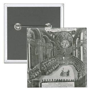 El Sacrosanto Concilio General de Trento Pinback Button