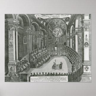 El Sacrosanto Concilio General de Trento Poster