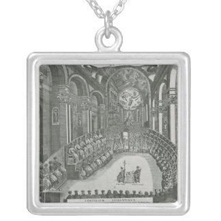 El Sacrosanto Concilio General de Trento Silver Plated Necklace