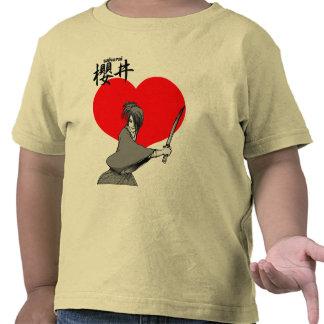 el sakurai oye al samurai camisetas
