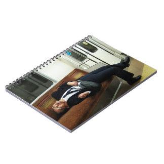 El Salaryman cansado Cuadernos