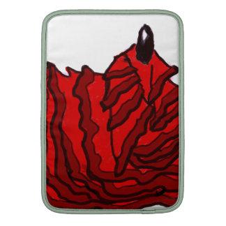 El salir del sueño - llama del flamenco - B Funda MacBook