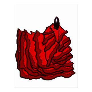 El salir del sueño - llama del flamenco tarjetas postales