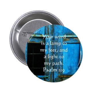 El salmo 119 su palabra es una lámpara a mis pies pins
