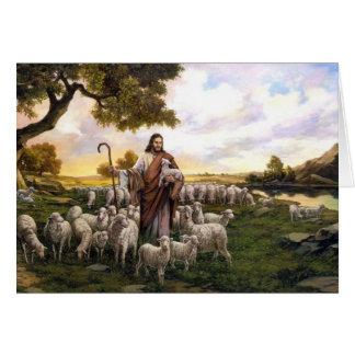 El salmo 23 el señor es mi tarjeta de Shepard
