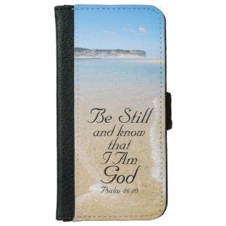 El salmo 46 todavía esté y sabe que SOY DIOS, Carcasa De iPhone 6