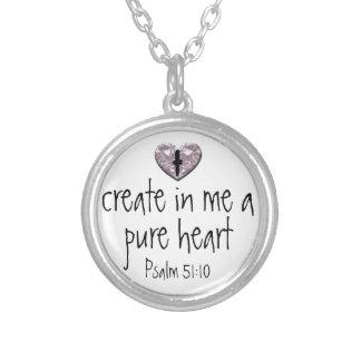 El salmo crea en mí un collar puro del corazón