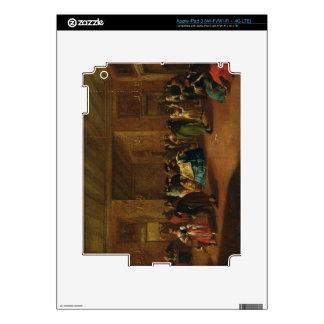 El salón (bosquejo) iPad 3 skins