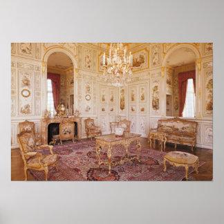 El salón Chinois, c.1740 Impresiones