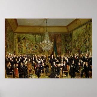 El salón de Alfred Emilien, Comte de Póster