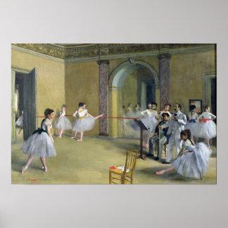 El salón de la danza póster