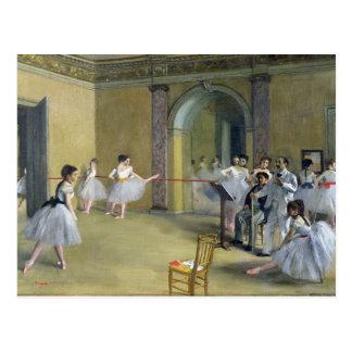 El salón de la danza tarjeta postal