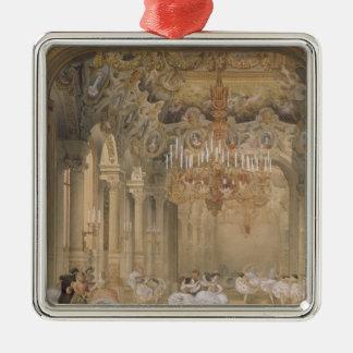 El salón de la ópera durante el intervalo ornamentos de reyes magos