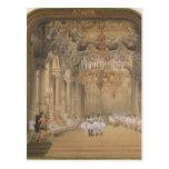 El salón de la ópera durante el intervalo postales