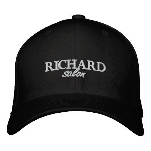 El salón de Richard bordó el casquillo cabido Gorra De Béisbol