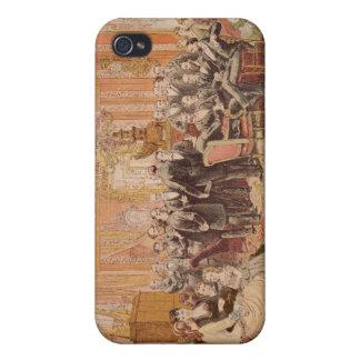 El salón de Victor Hugo iPhone 4 Fundas
