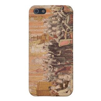 El salón de Victor Hugo iPhone 5 Carcasa