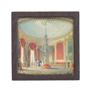 El salón en su fase final de las vistas del Ro Caja De Recuerdo De Calidad
