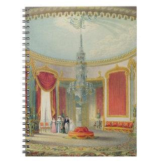 El salón en su fase final de las vistas del Ro Cuaderno