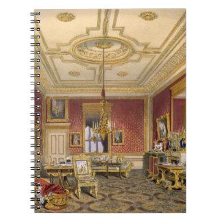 El salón privado de la reina, castillo de Windsor, Libros De Apuntes Con Espiral