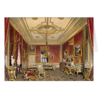 El salón privado de la reina, castillo de Windsor, Tarjeta De Felicitación