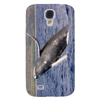 El salpicar de la ballena jorobada
