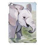 El salpicar sobre elefante del bebé iPad mini protectores