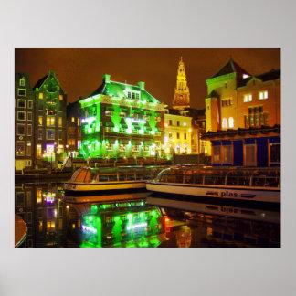 El saltamontes en Amsterdam - impresión Impresiones