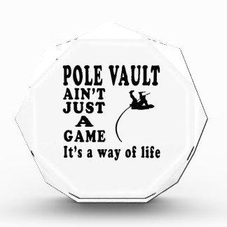 El salto con pértiga no es apenas un juego que es