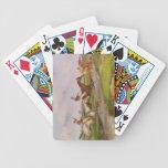 El salto de agua: la carrera de obstáculos del oto baraja de cartas