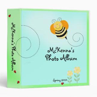"El salto de la abeja manosea el álbum de foto del  carpeta 1 1/2"""