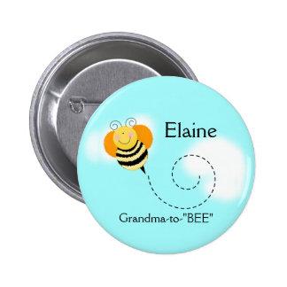 El SALTO de la ABEJA MANOSEA el botón Pin Redondo De 2 Pulgadas