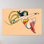 El salto de la Mujer Maravilla Póster