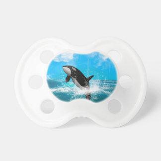 El salto de la orca chupete de bebe