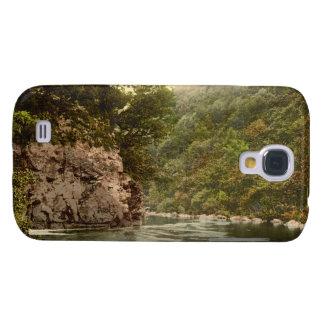 El salto del amante, Dartmoor, Devon, Inglaterra Funda Samsung S4
