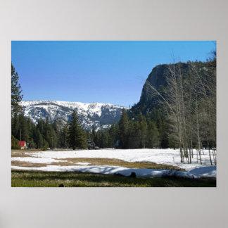 """El """"salto del amante"""", montañas de Sierra Nevada,  Impresiones"""