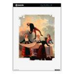 El salto Jack de Francisco de Goya Calcomanías Para El iPad 2