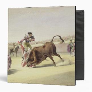 El salto o el Salta Tras Cuernos, 1865 (litho del
