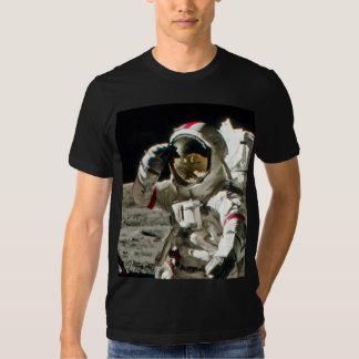 El saludo de un héroe de Apolo 17 II Poleras