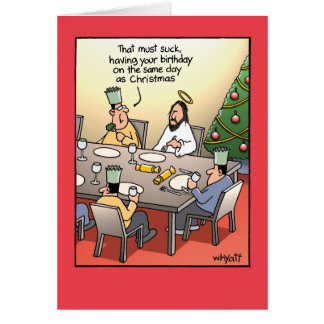El saludo del cumpleaños chupa la tarjeta de Navid